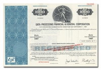 Data Processing Financial & General Corporation (Specimen)