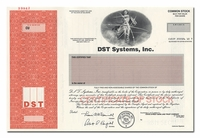 DST Systems, Inc. (Specimen)