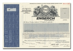 Enserch Corporation (Specimen)