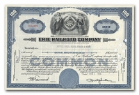 Erie Railroad Company, Issued to Merrill Lynch, Pierce, Fenner & Beane