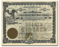 Evans-Kearney Water Wheel Company, Limited