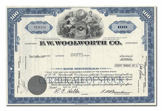 F. W. Woolworth Co.