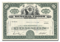 General Foods Corporation, Issued to Tucker Anthony & R. L. Day