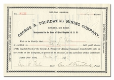 George A. Treadwell Mining Company (Famous Con)