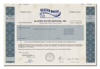 Glacier Water Services, Inc.