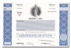 Guess?, Inc. (Production Folder)