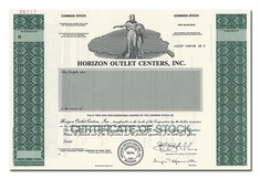 Horizon Outlet Centers, Inc. (Specimen)