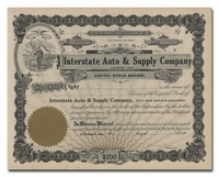 Interstate Auto & Supply Company