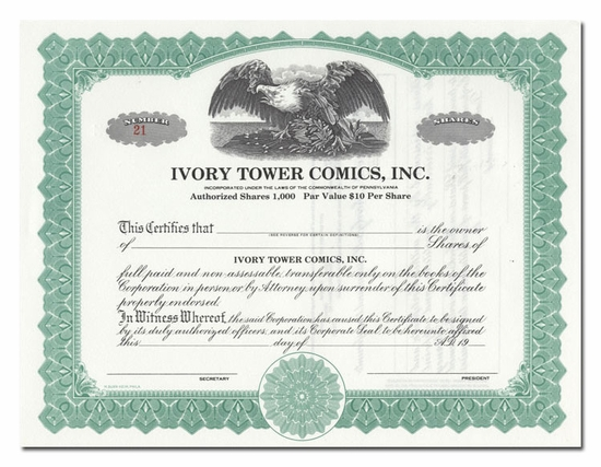 Ivory Tower Comics, Inc.
