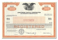 John Deere Capital Corporation (Specimen)