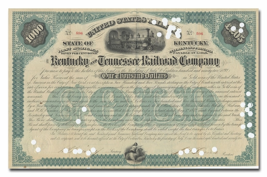 Kentucky and Tennessee Railroad Company