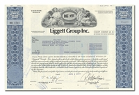 Liggett Group Inc., Issued to Merrill Lynch, Pierce, Fenner & Smith