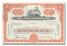 Lionel Corporation, Issued to Bache & Co.