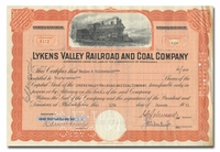 Lykens Valley Railroad and Coal Company