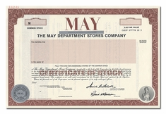 May Department Stores Company (Specimen)