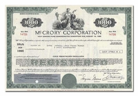 McCrory Corporation, Issued to Merrill Lynch, Pierce, Fenner & Smith