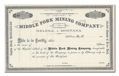 Middle Fork Mining Company (Montana)