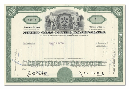 Miehle-Goss-Dexter, Incorporated