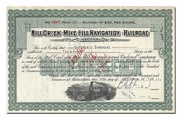 Mill Creek and Mine Hill Navigation<br>and Railroad Company