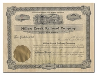 Millers Creek Railroad Company
