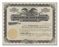 Minneapolis, St. Louis & Canadian Railroad Company