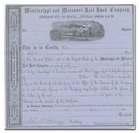 Mississippi and Missouri Rail Road Company