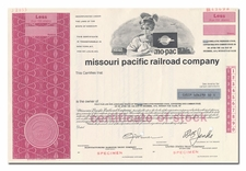 Missouri Pacific Railroad Company (Specimen)
