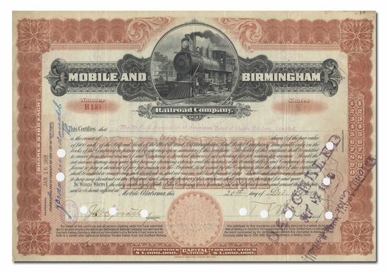 Mobile and Birmingham Railroad Company