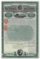 Mohawk and Malone Railway Company (Signed by Chauncey DePew and William Webb)