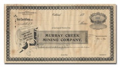 Murray Creek MIning Company (California)