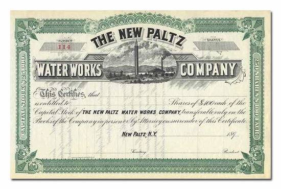 New Paltz Water Works Company