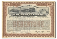 New York, New Haven and Hartford Railroad Company, Issued to Tucker Anthony & Company