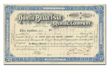 North Belle Isle Mining Company (Tuscarora District, Nevada)