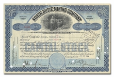 North Butte Mining Company, Issued to Kidder Peabody