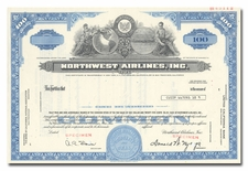 Northwest Airlines, Inc. (Specimen)