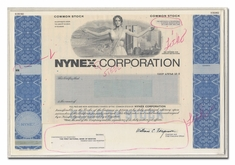 Nynex Corporation (Production Folder)