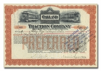 Oakland Traction Company (Signed by Dennis Searles)
