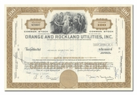 Orange and Rockland Utilities, Inc.