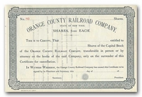 Orange County Railroad Company