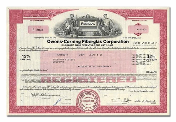 Owens-Corning Fiberglas Corporation