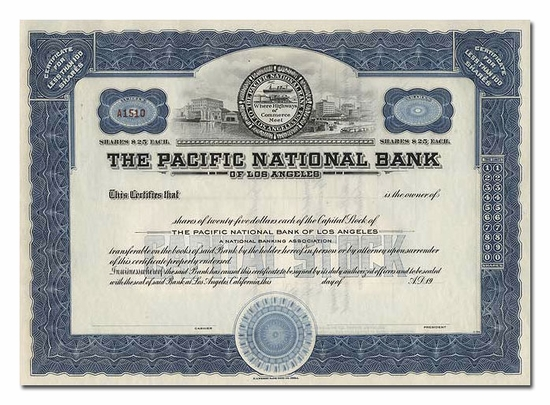 Pacific National Bank of Los Angeles