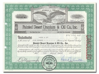 Painted Desert Uranium & Oil Co., Inc. (Washington)