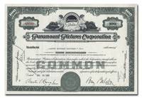 Paramount Pictures Corporation, Issued to Brown Brothers Harriman