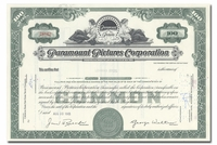 Paramount Pictures Corporation, Issued to Lehman Brothers