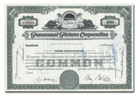 Paramount Pictures Corporation, Issued to Merrill Lynch, Pierce, Fenner & Smith