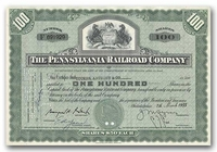 Pennsylvania Railroad Company, Issued to Tucker Anthony & Company