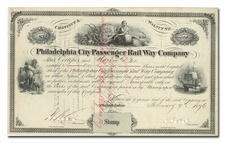 Philadelphia City Passenger Rail Way Company