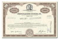 Photo Magnetic Systems, Inc.