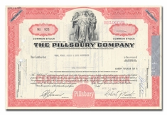 Pillsbury Company, Issued to Paine Webber, Jackson & Curtis