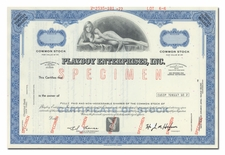 Playboy Enterprises, Inc. (Specimen)